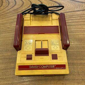 ファミコン本体 任天堂 ファミリーコンピュータ ファミリーコンピューター ACアダプタなし Nintendo