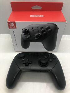◆1円~ Nintendo Switch Proコントローラー 中古 動作OK! 箱付 ニンテンドースイッチ 任天堂 プロコン 純正品
