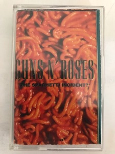 "■USオリジナルカセット■GUNS N ROSES-ガンズ・アンド・ローゼズ/""THE SPAGHETTI INCIDENT?"" 1993年 GEFFEN"