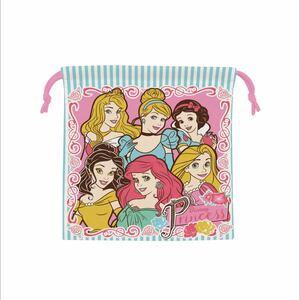プリンセス 巾着 ランチ巾着 弁当袋 巾着袋 コップ袋 きんちゃく ディズニー