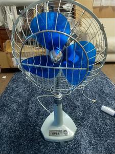 富士電機 FUJIDENKI 昭和レトロ 扇風機 サイレントファン TYPE FAS-3061D 3枚羽根 首振り アンティーク ポップ 中古 動作品 KS