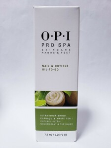 OPI プロ スパ ネイル & キューティクル オイル 7.5 ml アメリカ製 Pro Spa Cuticle Oil Togo