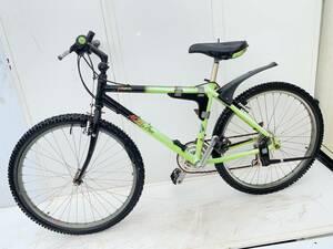 ◆ジャンク 要整備【★アラヤ ARAYA Muddy Fox AL7000★】26インチ 3×7速 アルミフレーム マウンテンバイク自転車★中古