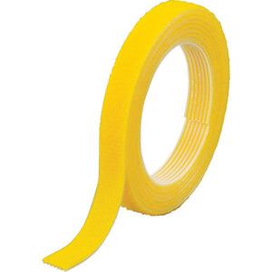 TRUSCO マジックバンド[[R下]]結束テープ両面 幅10mmX長さ30m黄 [MKT10WY]