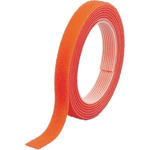 TRUSCO マジックバンド[[R下]]結束テープ両面幅10mm長さ30mオレンジ [MKT10WOR]