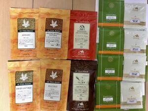 ルピシア LUPICIA☆紅茶☆ティーバック6袋&8p(リーフ含む)☆ノンカフェイン含