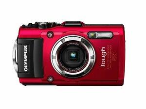 OLYMPUS デジタルカメラ STYLUS TG-3 Tough レッド 1600万画素CMOS F2.0 15(中古 良品)