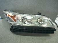 ストリーム DBA-RN6 右ヘッドライト ランプ NH700M X HDDナビパッケージ R18A 5DT
