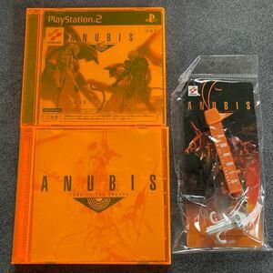 【アヌビス】ANUBIS ZONE OF THE ENDERS サントラ、ps2版体験版、特典ストラップのセット