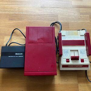 任天堂 ファミリーコンピュータとディスクシステムのセット