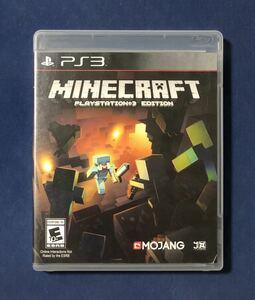 【動作確認画像有】 PS3 マインクラフト Minecraft マイクラ 海外版 プレイステーション3 プレステ3 ゲームソフト カセット *日本語対応