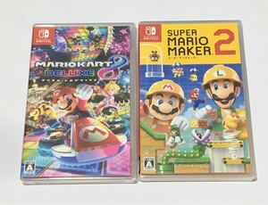 【Switch】マリオカート8 デラックス & スーパーマリオメーカー2 Switch セット