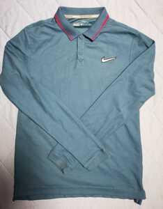 ナイキ ゴルフ 長袖シャツ 中古美品 サイズS