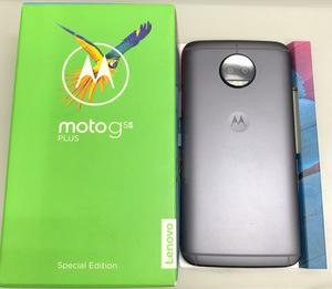 【送料無料/中古良品】国内版SIMフリー MOTOROLA モトローラ Moto G5s Plus 32GB XT1805 ルナグレー Dual SIM デュアルシム