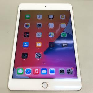 【送料無料/中古】SIMフリー 第4世代 au iPad mini4 Wi-Fi+Cellular 128GB ゴールド MK782J/A SIMロック解除済 〇判定 アイパッド ミニ