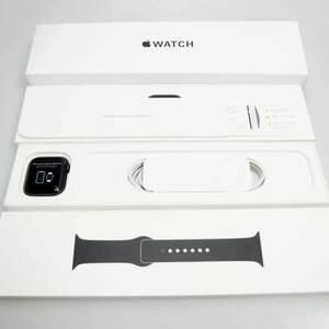 【ジャンク古/送料無料】 Apple Watch SE GPSモデル 44mm スペースグレイアルミニウムケースとブラックスポーツバンド MYDT2J/A 【名古屋名