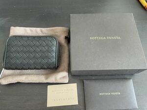 未使用ボッテガヴェネタ コインケース BOTTEGA VENETA ブラック