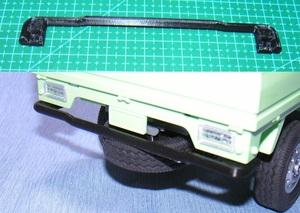 3DプリンタPLA+ 「リアバンパー」1/10 WPL D12 スズキ キャリイ用
