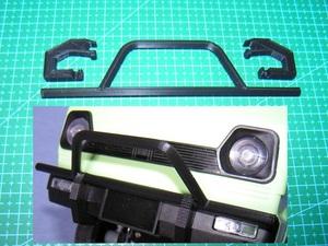 3DプリンタPLA+「フロントバンパー」1/10 WPL D12 スズキ キャリイ用