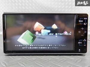 保証付 トヨタ純正 HDDナビ NHDT-W59G 08545-00S30 地図データ 2019年 Bluetooth CD再生 DVD再生 ワンセグ内蔵 カーナビ