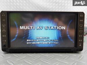 保証付 トヨタ純正 HDDナビ NHDT-W57 08545-00Q60 地図データ 2007年 CD再生 DVD再生 ワンセグ カーナビ