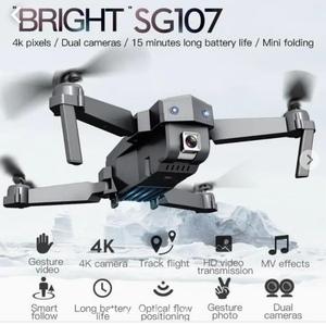 ドローンSG107 4K デュアルカメラ 航空法規制外 モード切替OK 高画質