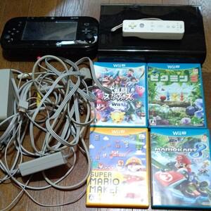 任天堂WiiU 本体 ソフト4本セット