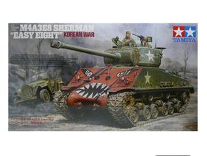 【TORAYA】 即決 1/35 タミヤ M4A3E8 シャーマン イージーエイト 朝鮮戦争