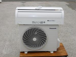 【8畳~12畳/内部は綺麗/送料無料】Panasonic ルームエアコン CS-285CF 15年 100V 2.8KW R32 内部乾燥/におい除去機能搭載 家庭用 中古