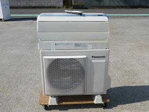 【11畳~17畳】Panasonic ルームエアコン CS-405CXR2 中古 200V 4.0KW R32 大型内機 お掃除ロボット ナノイー内部除菌 すぐでる暖房 家庭用