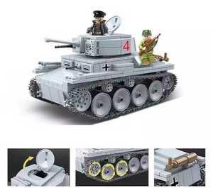 ☆最安値☆レゴ互換 LT-38(38t戦車)風