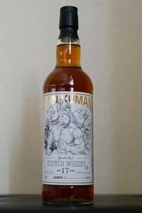 キン肉マン 40周年記念ボトルウイスキー ブレンデッド モルト 正義超人ラベル