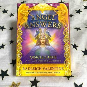 エンジェルアンサーオラクルカード 中古 英語版 正規品 Angel Answers Oracle Cards ドリーンバーチュー