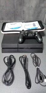 プレイステーション4 PS4本体 500GB CUH-1200A 管理番号16
