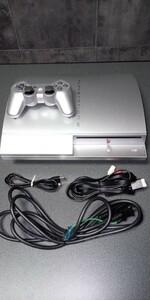プレイステーション3 PS3本体 40GB CECHH00 サテンシルバー
