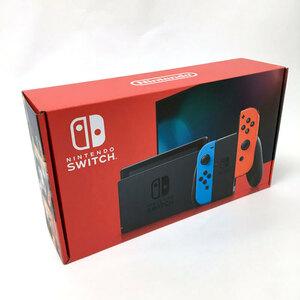 【中古】《未使用》新型モデル 任天堂 ニンテンドースイッチ ネオンブルー/ネオンレッド【Nintendo Switch 本体】【ゲーム】【山城店】N160