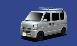 ★TUFREQ ルーフキャリア エブリィ DA64V/DA64W 標準ルーフ用Lシリーズ ミドル