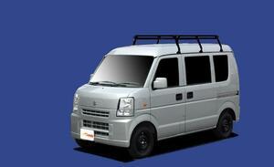 ★TUFREQ ルーフキャリア エブリィ DA64V/DA64W ハイルーフ用Pシリーズ ミドル
