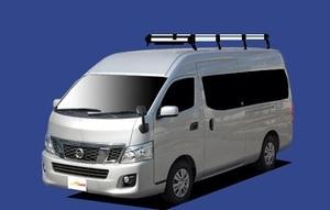 ★TUFREQ ルーフキャリア NV350キャラバン E26系 ワイド用/Hシリーズ ロング