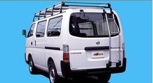 ★TFQリアラダー キャラバン E25系 標準ルーフ用