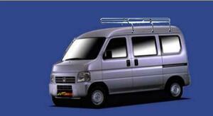 ★TUFREQ ルーフキャリア NV100クリッパー DR64V ハイルーフ用/Lシリーズ ミドル