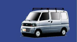 ★TUFREQ ルーフキャリア クリッパー U71V/U72V 標準ルーフ用Pシリーズ ロング