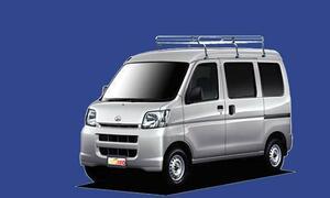 ★TUFREQ ルーフキャリア ハイゼット S320/330系 ハイルーフ用/Lシリーズ ミドル