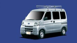 ★TUFREQ ルーフキャリア サンバーバン S321B/S331B用/Lシリーズ ミドル