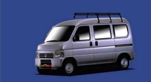 ★TUFREQ ルーフキャリア NV100クリッパー DR64W ハイルーフ用/Pシリーズ ミドル