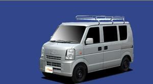 ★TUFREQ ルーフキャリア スクラム DG64V 標準ルーフ用Lシリーズ ミドル