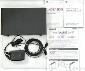 BUFFALO NAS LS210D0201G(2TB)バッファロー 外付けHDD