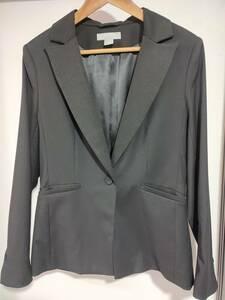 【USED/美品】 H&M レディース ジャケット サイズ40 ブラック 黒
