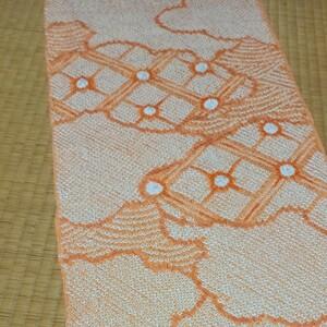 ハギレ 正絹 総絞り 34×107