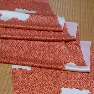 ハギレ 正絹 36×164 市松人形 着物 パッチワーク 吊るしびな